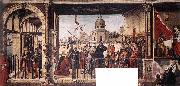 CARPACCIO, Vittore Arrival of the English Ambassadors g oil painting picture wholesale