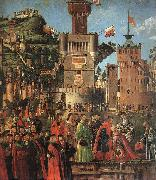 CARPACCIO, Vittore Departure of the Pilgrims (detail) sdf oil painting picture wholesale