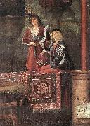CARPACCIO, Vittore Departure of the Pilgrims (detail) gh oil painting picture wholesale