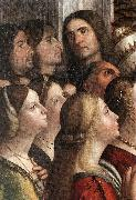 CARPACCIO, Vittore Apotheosis of St Ursula (detail) fdh China oil painting reproduction