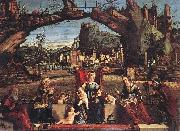 CARPACCIO, Vittore Holy Conversation fg oil painting picture wholesale