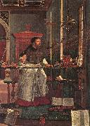 CARPACCIO, Vittore Vision of St Augustin (detail) dsf oil painting picture wholesale