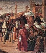 CARPACCIO, Vittore The Triumph of St George (detail) fsg oil painting picture wholesale