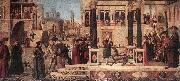 CARPACCIO, Vittore The Daughter of of Emperor Gordian is Exorcised by St Triphun dfg oil painting picture wholesale