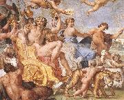 CARRACCI, Annibale Triumph of Bacchus and Ariadne (detail) dsg oil painting picture wholesale