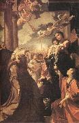 CARRACCI, Lodovico Bargellini Madonna sf oil painting