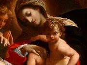 CARRACCI, Lodovico The Dream of Saint Catherine of Alexandria (detail) dfg oil painting