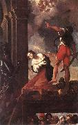 CARRACCI, Lodovico The Martyrdom of St Margaret fg oil painting