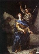 CAVALLINO, Bernardo The Ecstasy of St Cecilia df oil painting picture wholesale