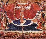 CHARONTON, Enguerrand The Coronation of Mary jkh oil painting