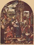 CLEVE, Joos van Adoration of the Magi sdf oil painting
