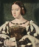 CLEVE, Joos van Portrait of Eleonora, Queen of France  fdg oil painting