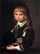 CODDE, Pieter Portrait of a Child dfg oil painting