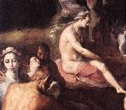 CORNELIS VAN HAARLEM The Wedding of Peleus and Thetis (detail) fdg oil painting picture wholesale