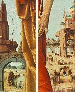 COSSA, Francesco del St Peter and St John the Baptist, details (Griffoni Polyptych) sdf oil painting