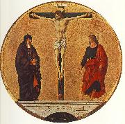 COSSA, Francesco del The Crucifixion (Griffoni Polyptych) dfg oil painting picture wholesale