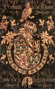 COUSTENS, Pieter Coat-of-Arms of Anthony of Burgundy df oil painting