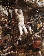 COXCIE, Michiel van The Torture of St George dfg oil painting