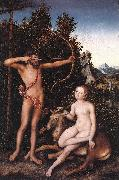 CRANACH, Lucas the Elder Apollo and Diana fdg oil painting picture wholesale