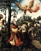 CRANACH, Lucas the Elder The Annunciation to Joachim rrt oil painting picture wholesale