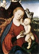 CRANACH, Lucas the Elder Madonna and Child fgd142 oil painting reproduction