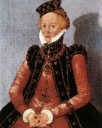 CRANACH, Lucas the Younger Portrait of a Woman sdgsdftg oil painting