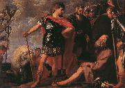 CRAYER, Gaspard de Alexander and Diogenes fdgh oil painting