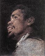 CRAYER, Gaspard de Head Study of a Young Moor dhyj oil painting