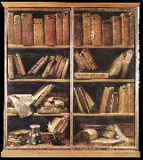 CRESPI, Giuseppe Maria Bookshelves dfg oil painting