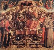 CRIVELLI, Carlo Coronation of the Virgin dgfd oil painting