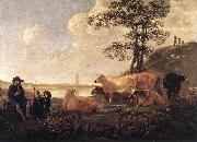 CUYP, Aelbert Landscape near Rhenen df oil painting picture wholesale