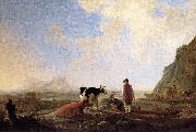 CUYP, Aelbert Herdsmen with Cows dfg oil painting picture wholesale