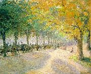 Camille Pissaro Hyde Park, London oil painting artist
