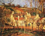 Camille Pissarro Red Roofs1 Village Corner oil painting