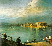 Canaletto San Cristoforo, San Michele Murano China oil painting reproduction