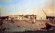 London: Greenwich Hospital from the North Bank of the Thames d