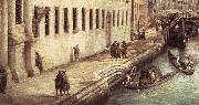 Canaletto Rio dei Mendicanti (detail) s oil painting picture wholesale