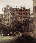 Canaletto The Rio dei Mendicanti (detail) oil painting picture wholesale
