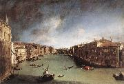 Canaletto Grand Canal, Looking Northeast from Palazo Balbi toward the Rialto Bridge oil painting picture wholesale