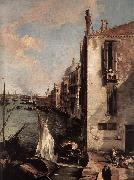 Canaletto Grand Canal, Looking East from the Campo San Vio (detail) fd oil painting picture wholesale