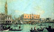Canaletto Veduta del Palazzo Ducale oil painting