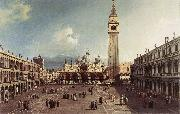 Canaletto Piazza San Marco with the Basilica fg oil painting picture wholesale