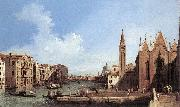 Canaletto Grand Canal: from Santa Maria della Carit to the Bacino di San Marco d oil painting picture wholesale