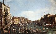 A Regatta on the Grand Canal d