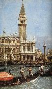 Canaletto Return of the Bucentoro to the Molo on Ascension Day (detail)  fd oil painting picture wholesale