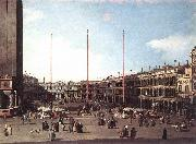 Canaletto Piazza San Marco, Looking toward San Geminiano df oil painting picture wholesale