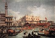 Canaletto The Bucintore Returning to the Molo on Ascension Day oil painting picture wholesale