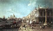Canaletto The Molo with the Library and the Entrance to the Grand Canal f oil painting picture wholesale