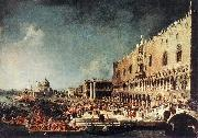 Arrival of the French Ambassador in Venice d