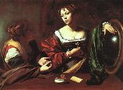 Caravaggio Martha and Mary Magdalene oil painting